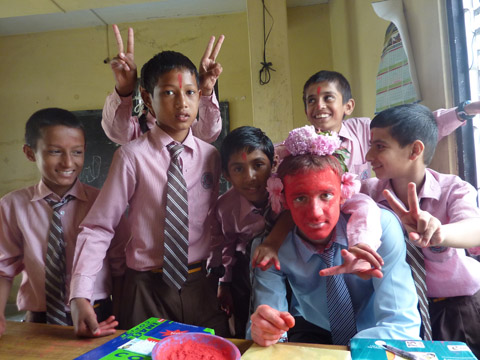 Teaching School Nepal